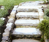 stairs made form stone