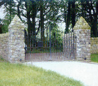 stone walls and fencing